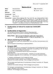 Referat fra den 6. september 2007