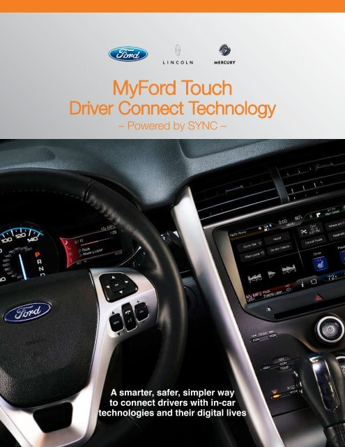 Myford Touch