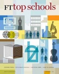 top 20 best schools - Financial Times - FT.com