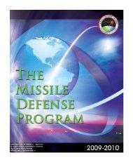 The Missile Defense Program