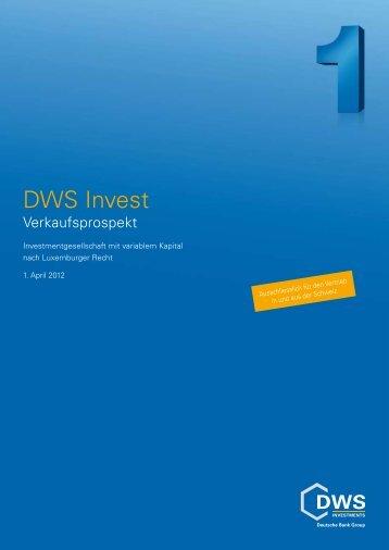 DWS Invest - fundinfo.com