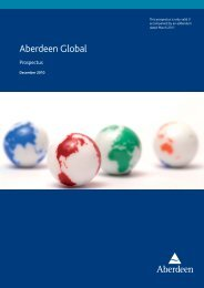 Aberdeen Global - Fundinfo