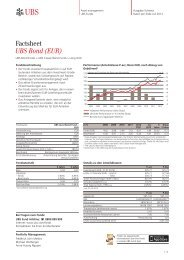 Factsheet UBS Bond (EUR) - Fundinfo