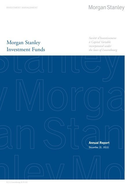 Morgan Stanley Investment Funds - Aia com hk