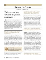 Patient attitudes toward physician assistants - ResearchGate