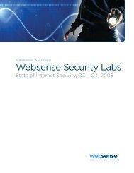 State of Internet Security Q3-Q4 2008 - Haymarket Media Group
