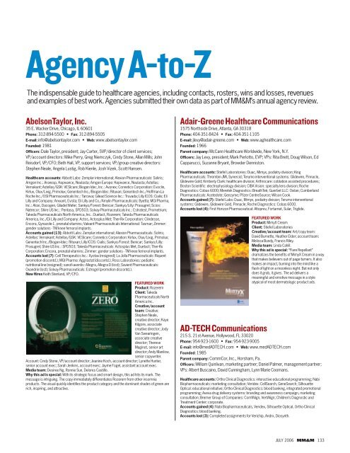 Adair Greene Healthcare Communications Ad Tech Haymarket