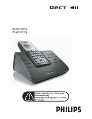 DECT 311_DK_06.07.04.qxd - Philips Support
