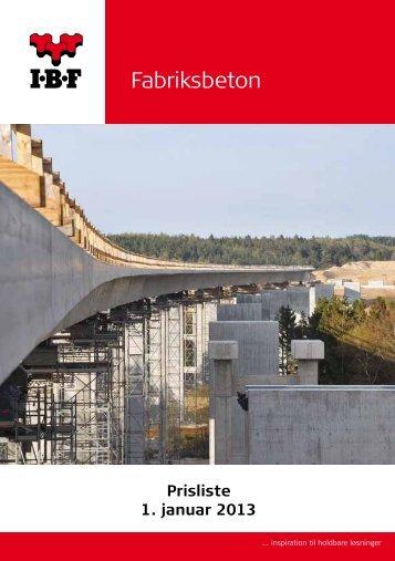 Salgs- og leveringsbetingelser - IBF