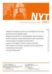 Nyt fra Ankestyrelsen nr. 8 november 2011