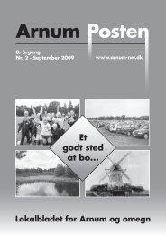 arnumposten 2009-2 - Arnum Net