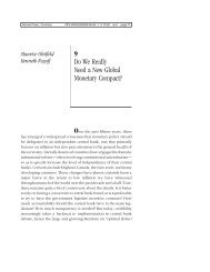 Do We Really Need a New Global Monetary ... - Hoover Institution