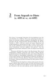 2 From Argeads to Huns (c. 600 BC–c. AD 600)