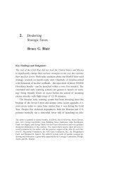 2. De-alerting Strategic Forces Bruce G. Blair - Hoover Institution