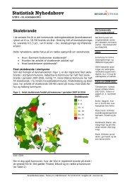 Statistisk Nyhedsbrev 5-2011 - Skolebrande - Beredskabsstyrelsen