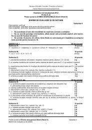 Chimie anorganica Barem - DMS