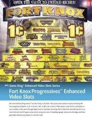 Fort Knox Progressives™ Enhanced Video Slots - IGT.com