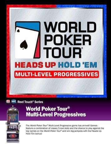 World Poker Tour® Multi-Level Progressives - IGT.com