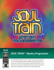 SOUL TRAIN™ Mystery Progressives - IGT.com