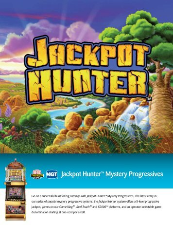 Jackpot Hunter™ Mystery Progressives - IGT