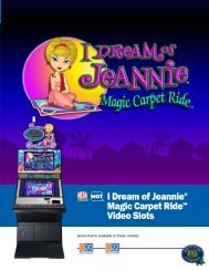 I Dream of Jeannie® Magic Carpet Ride™ Video Slots - IGT.com