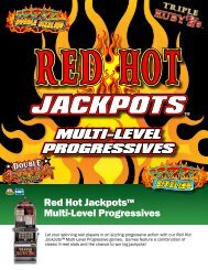 Red Hot Jackpots™ Multi-Level Progressives - IGT