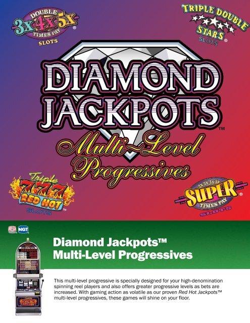 Diamond Jackpots™ Multi-Level Progressives - IGT.com