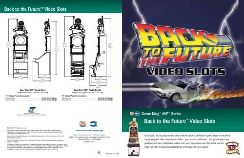 Back to the Future™ Video Slots - IGT.com