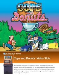 Cops and Donuts™ Video Slots - IGT.com