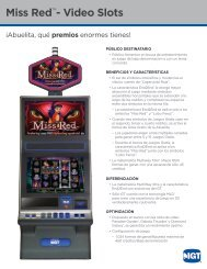 Miss Red™- Video Slots