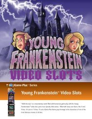 Young Frankenstein™ Video Slots - IGT.com