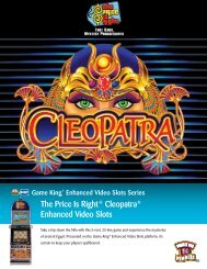 The Price Is Right® Cleopatra® Enhanced Video Slots - IGT.com