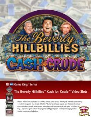 s The Beverly Hillbillies™ Cash for Crude™ Video Slots - IGT.com