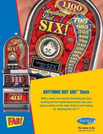 ANYTHING BUT SIX!™ Slots - IGT