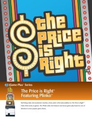 The Price is Right™ Featuring Plinko™ - IGT.com