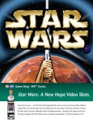 Star Wars: A New Hope Video Slots - IGT.com