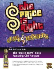 The Price Is Right™ Slots Featuring Cliff Hangers™ - IGT