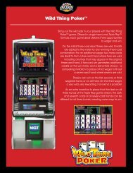 Wild Thing Poker™ - IGT