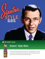 Sinatra™ Style Slots - IGT