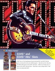 ELVIS® and ELVIS® Hits™ Slots - IGT.com