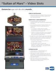"""""""Sultan of Mars"""" - Video Slots"""