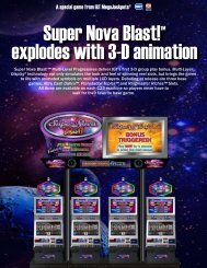 Super Nova Blast!™ explodes with 3-D animation - IGT