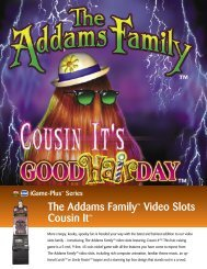 The Addams Family™ Video Slots Cousin It™ - IGT.com