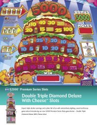 Double Triple Diamond Deluxe With Cheese™ Slots - IGT.com