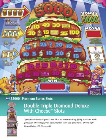 double triple diamond deluxe with cheese for sale