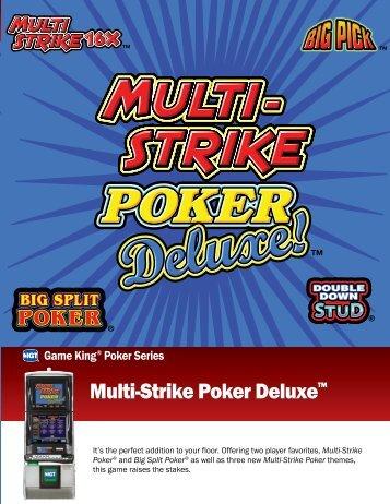 Multi-Strike Poker Deluxe™ - IGT.com