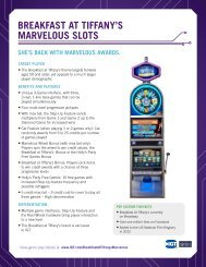 BDEAKFAST AT TIFFANyTS MADVELOUS SLOTS - IGT.com