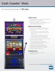 Cash Coaster™ Slots - IGT.com