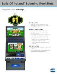Bells Of Ireland™ Spinning Reel Slots