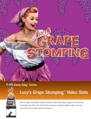 Lucy's Grape Stomping™ Video Slots - IGT.com